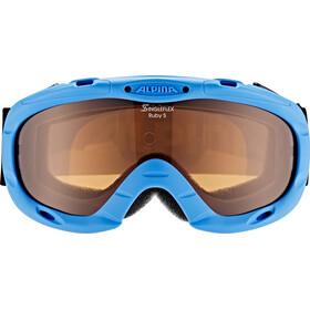Alpina Ruby S Singleflex Hicon S1 Gafas Niños, blue